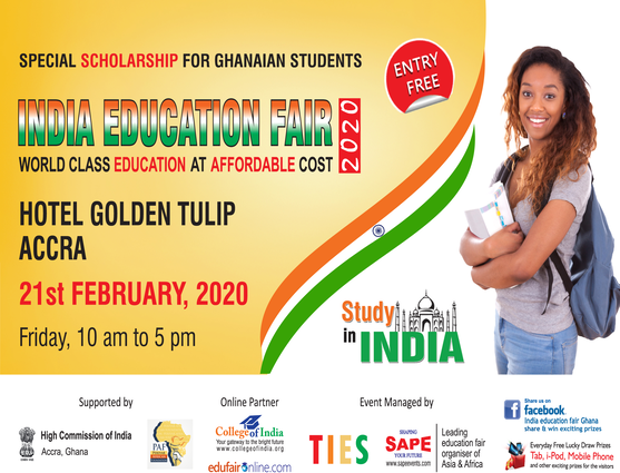 2ND INDIA EDUCATION FAIR GHANA