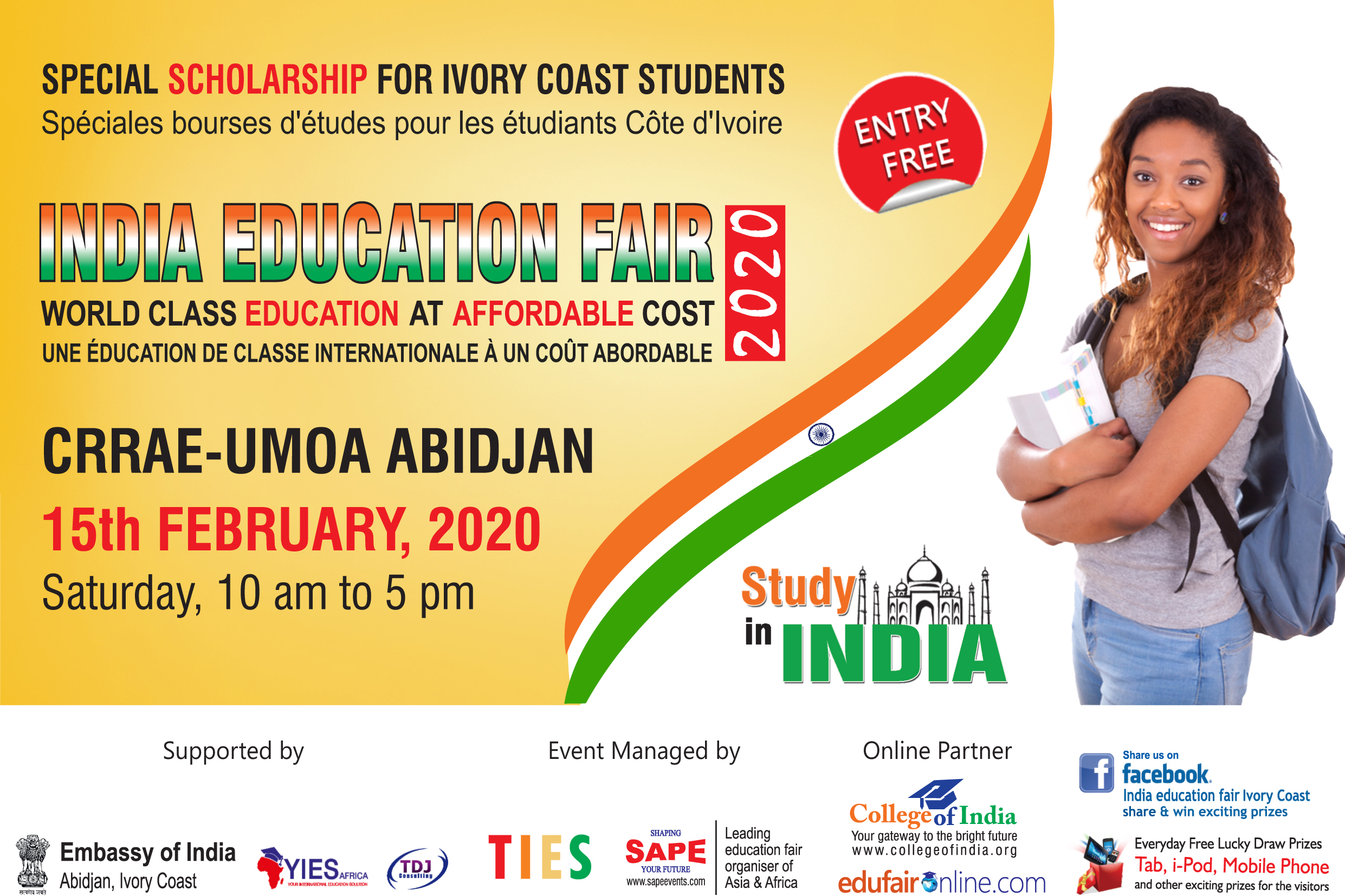 2ND INDIA EDUCATION FAIR IVORY COAST