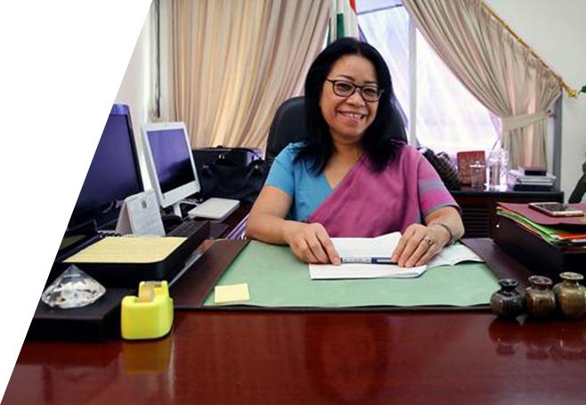 Ms. Nengcha Lhouvum Mukhopadhaya